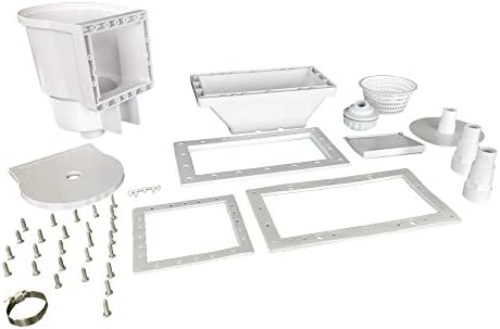 JED Pool Tools 45 430 Wide Mouth Thru The Wall Skimmer Complete Acce product image