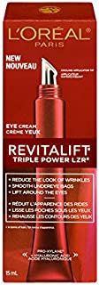L'Oreal Paris Revitalift Triple Power LZR Anti-Aging Eye Cream, with Hyaluronic Acid & Pro-Xylane, 15 ml (Canadian Packaging)