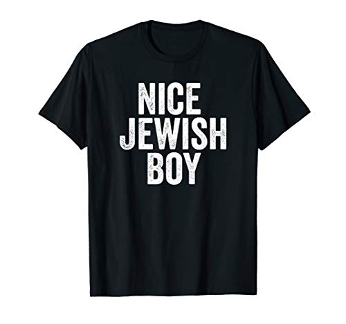 Nice Jewish Boy Fun Hanukkah Gift T-Shirt T-Shirt