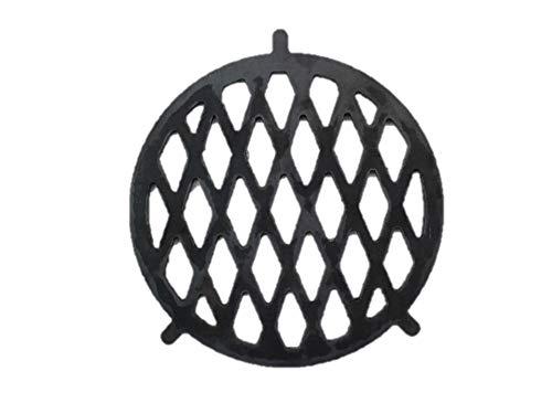 A. Weyck Tools Grilleinsatz Ø 20cm für Feuerplatte mit Halterung BBQ Plancha Grillrost Grill Einsatz Raute 09