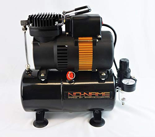 Tooty Airbrush Compressor with air tank. Piston type. NO-NAME Brand by SprayGunner