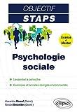 Psychologie Sociale Objectif STAPS