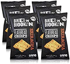 product image for Baked In Brooklyn Flatbread Crisps Sriracha 6 oz (pack of 12)