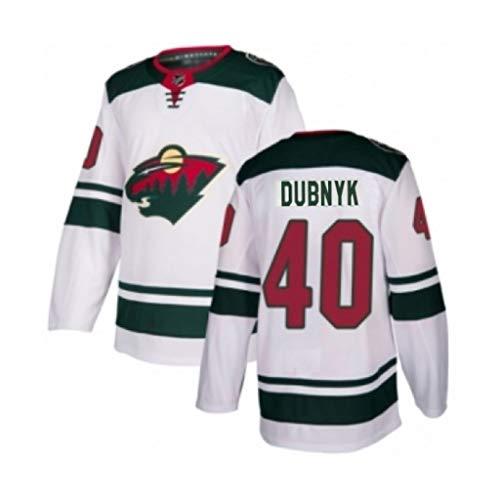 NHL Herren Eishockey Minnesota Wild # 36ZUCCARELLO # 40DUBNYK # 64Granlund Jersey Sweatshirts Bequemes und atmungsaktives Langarm-T-Shirt