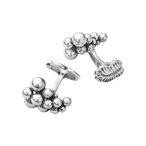 Photo of Georg Jensen Moonlight Grapes Sterling Silver Cufflinks 551A