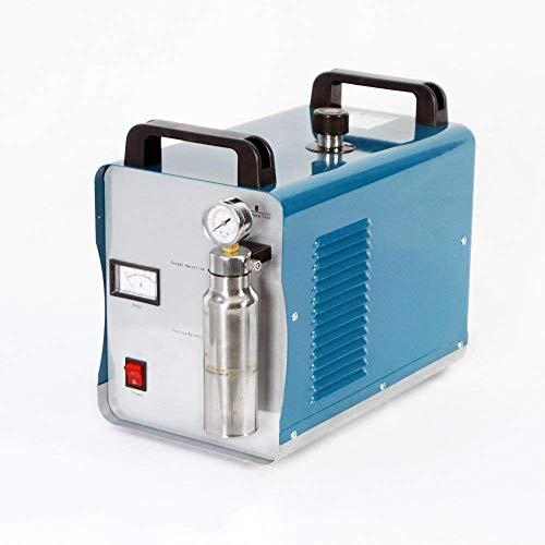 DCHOUSE H160 75L / h Oxígeno-Hidrógeno Agua Soldador Llama Acrílico Pulidora Pulidora