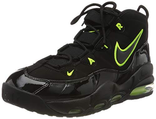 Nike Herren AIR MAX Uptempo '95 Basketballschuh, Black Volt, 40 EU