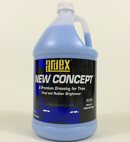 Ardex Tire and Trim Shine - Dash and Vinyl Dressing New Concept Gal. - DIY Like The Pros