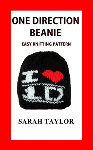One Direction Beanie Easy Knitting Pattern (English Edition)