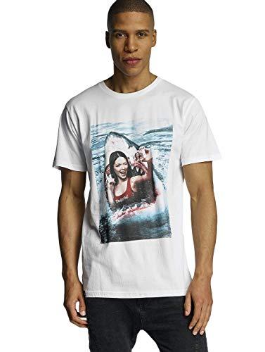DEDICATED Herren Printshirt weiß S