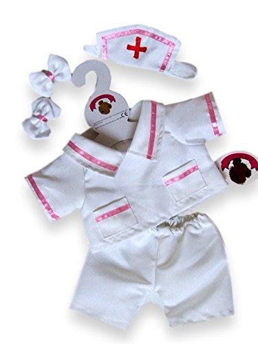 Build your Bears Wardrobe Krankenpfleger-Outfit, passend für 38 cm große Bären