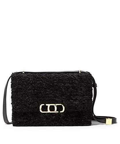 Marc Jacobs The J Link Faux Fur Shoulder Bag Black One Size