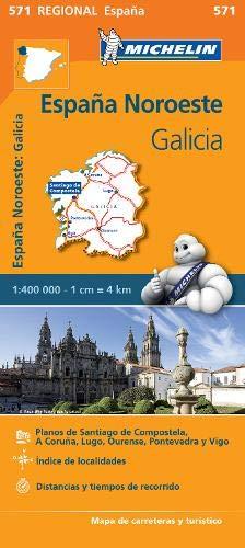 Mapa Regional Galicia (Carte regionali)