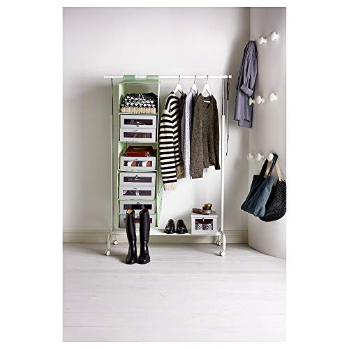 IKEA(イケア)BUMERANG/ブメラング木製無垢材洋服ハンガー肩部分凹みスーツ・ジャケット・キャミソール向け(2セット(16本),ホワイト)