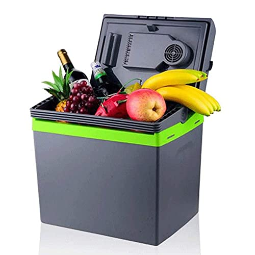 RTOFO 25L pequeño refrigerador 12v, 110v-240v al aire libre del hogar del coche refrigerado bebidas fruta -pequeños electrodomésticos
