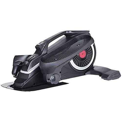 Hammer Stand Up Bicicleta estática, Mini elípticas Paso a Paso del Pedal w/Resistencia y LCD Ajustable Display, Vendedor Ambulante de Ejercicio físico for el hogar y Oficina Entrenamiento