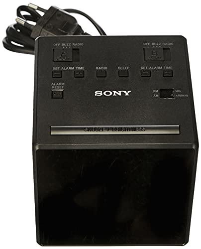 Sony ICF-C1TB Uhrenradio mit LED-Display, schwarz