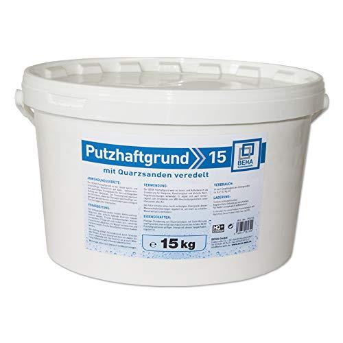 Putzhaftgrund PG15 Quarzsand Grundierung Putzgrund 15kg Quarzgrund Voranstrich