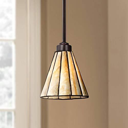 Bronze Tiffany Mini Pendant Light 7 1/2