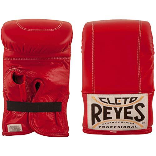 Cleto Reyes Boxhandschuh mit elastischem Bund, Größe S, Rot