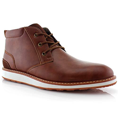 Ferro Aldo Houstan MFA506031 Mens Chukka Boots Brown 9.5