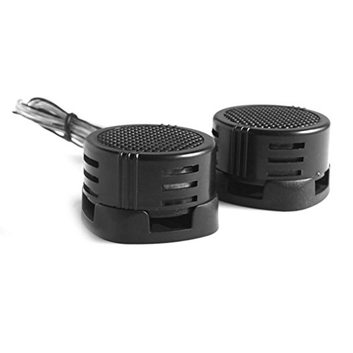 VORCOOL 2pcs Mini Haut-parleurs de Voiture Haut-Parleur Audio à Haute Fréquence