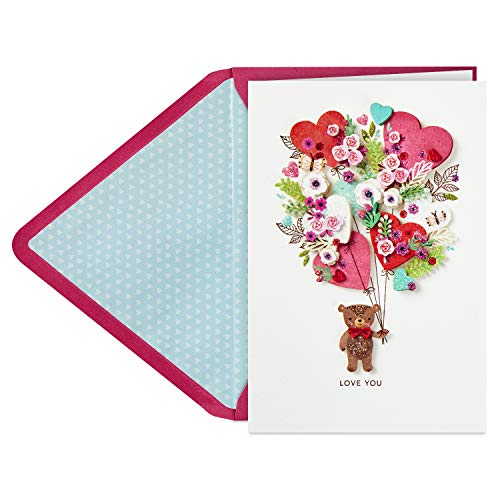 Hallmark Signature Mothers Day Card (Bear with Balloons)