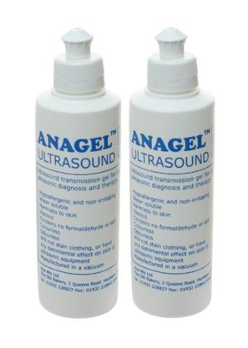Anagel Fetal Doppler Ultrasound Transmission Gel 250ml (Pack of...