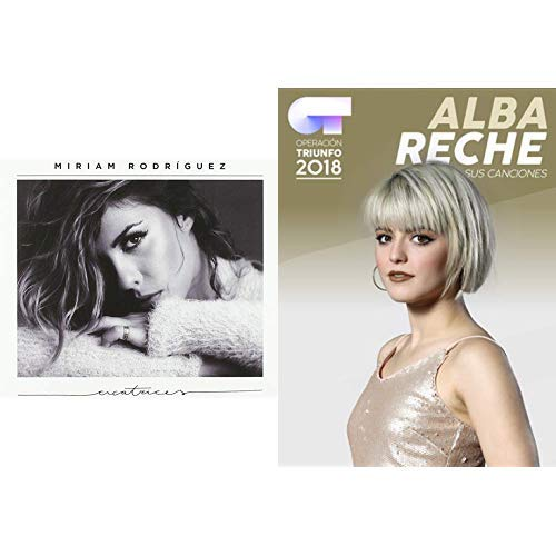 Pack Miriam Rodriguez: Cicatrices + Alba Reche: Sus canciones