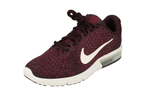 NIKE Air Max Sequent 2 Uomos Running 852461 Sneakers Turnschuhe (UK 10 US 11 EU 45, Port White Bordeaux White 601)