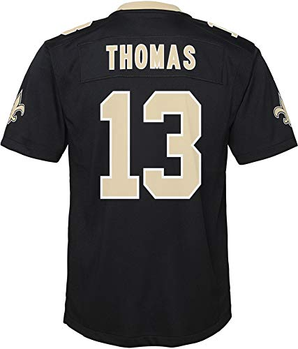 Youth Michael Thomas New Orleans Saints Replica Jersey (Youth X-Large (18-20)) Black