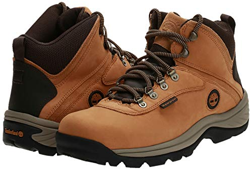 Timberland mens White Ledge Mid Waterproof Hiking Shoe, Wheat, 9.5 US