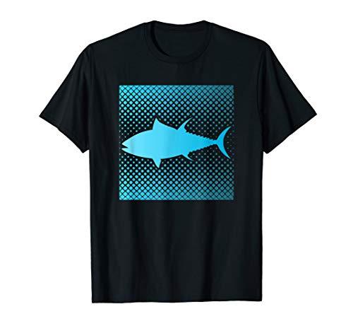 Herren Lustiges Thunfisch Angeln T-Shirt