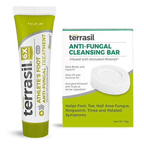 Athletes Foot Anti-Fungal Treatment 2-Product Kit - Kills Fungus 6x Faster, Natural Ingredients with Tea Tree...