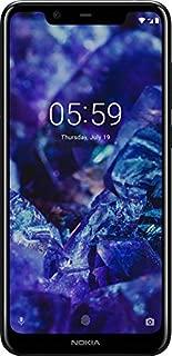 Nokia 5.1 Plus Dual SIM - 32GB, 3GB RAM, 4G LTE, Midnight Gloss Blue