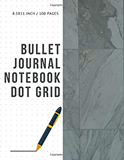 Bullet Journal Notebook Dot Grid: Cheap Composition Journals Books College Ruled To Write In Letter Paper Size 8.5 X 11 Volume 66