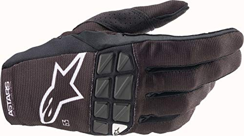 Alpinestars Racefend Motocross Handschuhe Schwarz/Weiß 2XL