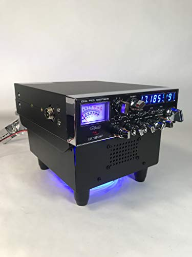 Delta LED Fan KIT Base Stand w/Built in Ext Speaker Galaxy CONNEX Ranger CB HAM Radios
