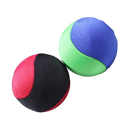 Moslate Balle rebondissante d'eau, Balle rebondissante de Piscine, Balle rebondissante Flottante d'eau d'éclaboussure, Balle de Jouets de Loisirs de Piscine (Rouge/Vert)