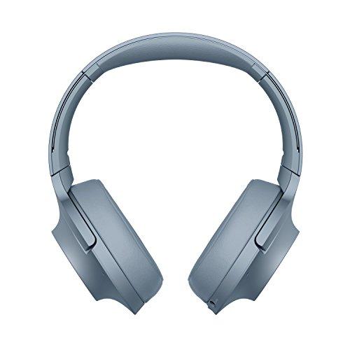Sony WHH900N - Auriculares de diadema inalámbricos (H.ear, Hi-Res Audio, cancelación de ruido, Sense Engine, Bluetooth, compatible con aplicación Headphones Connect) azul, con Alexa integrada