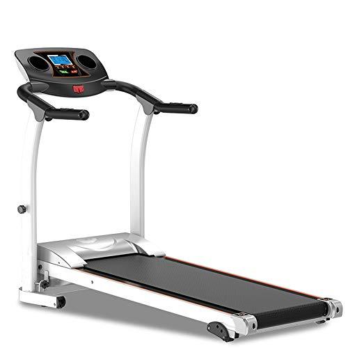 F-JX Casa Multifunzione Tapis roulant, Semplice Pieghevole Walking Macchina, Domestica Gym Equipment Fitness Perdita di Peso Meccanico,Nero
