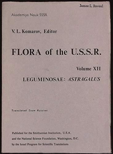 Flora of the U.S.S.R.): Volume VIII: Capparidaceae, Cruciferae and Resedaceae