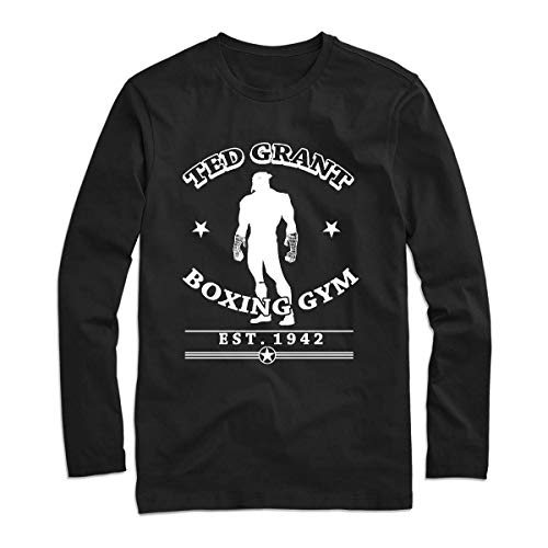 Ted Grant S Boxing Gym 13 Classic Style Long Sleeve Tee Shirt For Men - Women Fashionable Long Sleeve Tee Shirts - Customize Long Sleeve Tee Shirt For