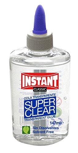 Pegamento cola transparente líquido Instant Superclear 147ml