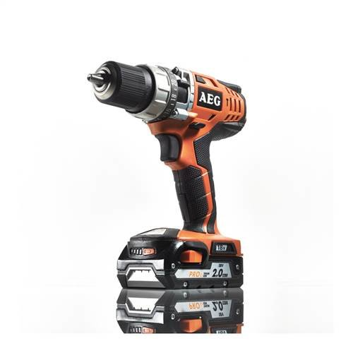AEG 4935443980 BSB 18C Schlagbohrschrauber, 36 W, 18 V, Schwarz, Orange