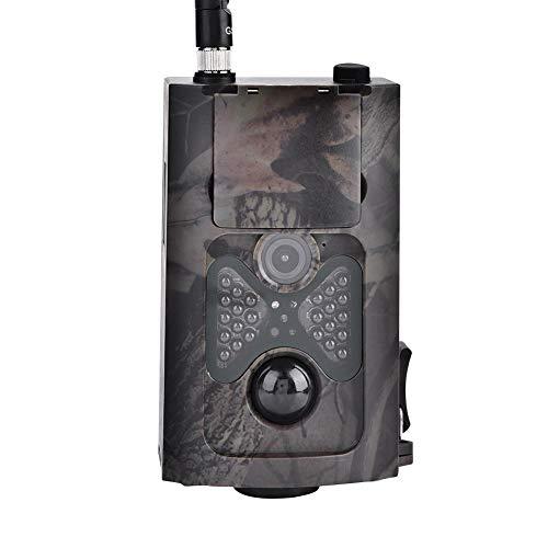 Bnineteenteam Rückfahrkamera, 1080P 16MP wasserdichte HD-Jagdkamera mit Nachtsicht für die Überwachung von Wildtieren inländischer Sicherheit