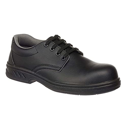 Portwest FW80 - Zapato de cordones de seguridad S2, color Negro, talla 35