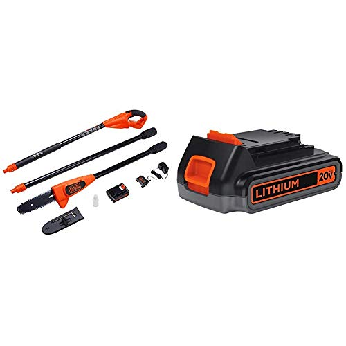 Black and Decker 20V Max Lithium Ion Pole Pruning...