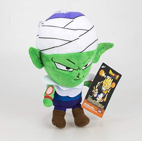 lili-nice Juguetes De Peluche De Dibujos Animados Anime Vegeta Dragon Ball Goku Mini Doll S Llavero Piccolo Super Saiyan Coche Colgante Niños Regalo Juguete De Peluche 18 Cm