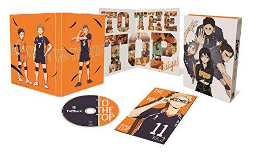 【Amazon.co.jp限定】ハイキュー‼ TO THE TOP Vol.3 (初回生産限定版) (3巻購入特典「ステッカー」+1~3巻連動購入特典「描き下ろし3巻収納BOX」+1~3巻連動購入メーカー特典「スペシャルドラマCD」引換シリアルコード付) [Blu-ray]